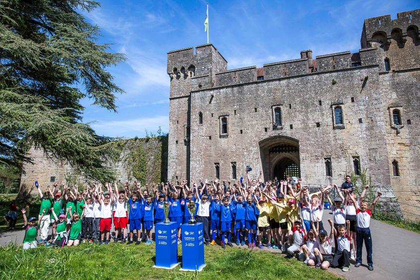 Lucky youngsters from a host of Newport primary schools enjoyed the experience of a lifetime