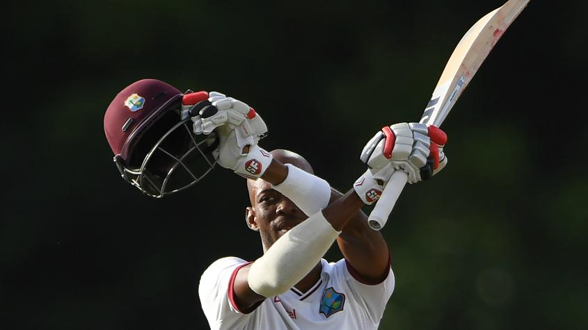 Roston hase has moved up 21 places to a career-best 28th rank after innings of 69 and 101 not out.