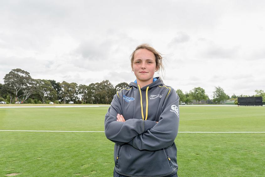 Amelia Kerr, the 16-year-old legspinner, is set to become New Zealand's youngest representative at the ICC Women's World Cup