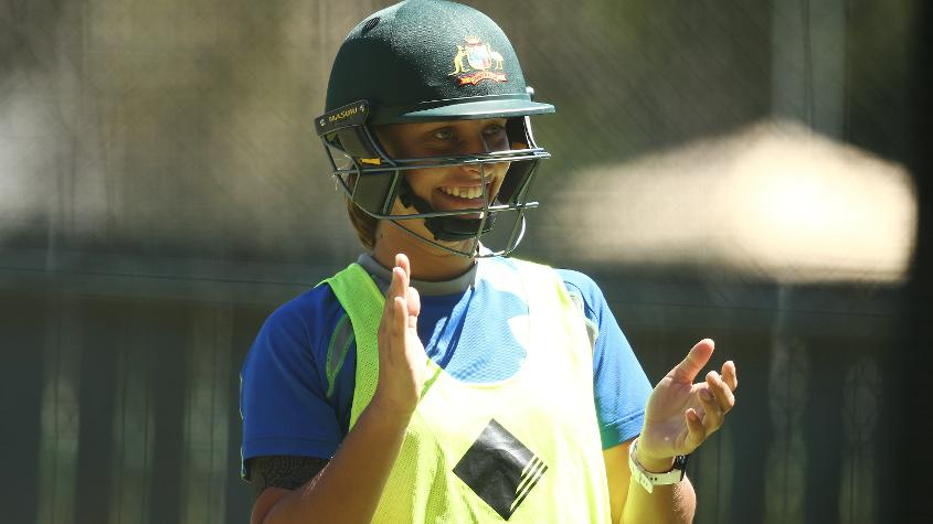Ashleigh Gardner, who is an offspinner, has represented Australia on five occasions.