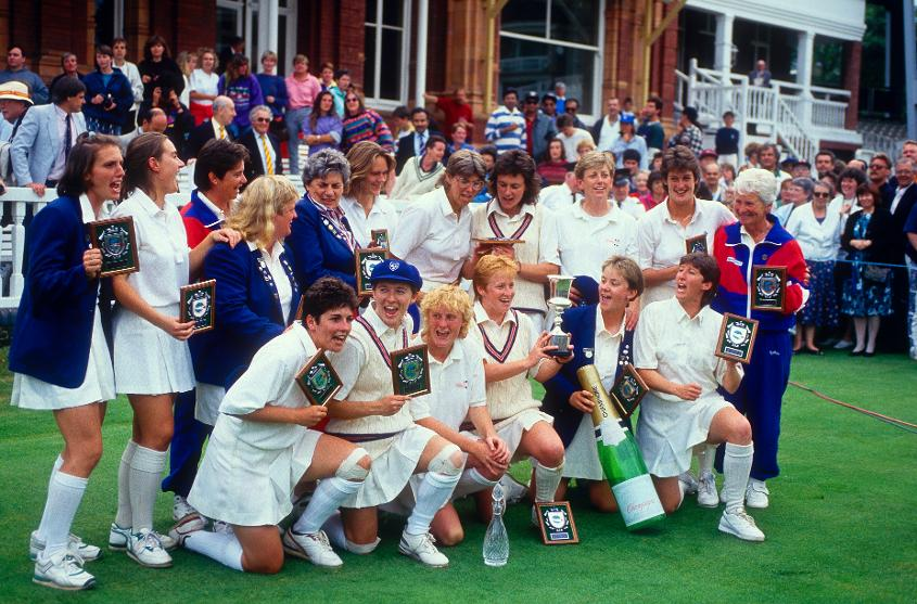 England Women lifted the World Cup for the second time in 1993