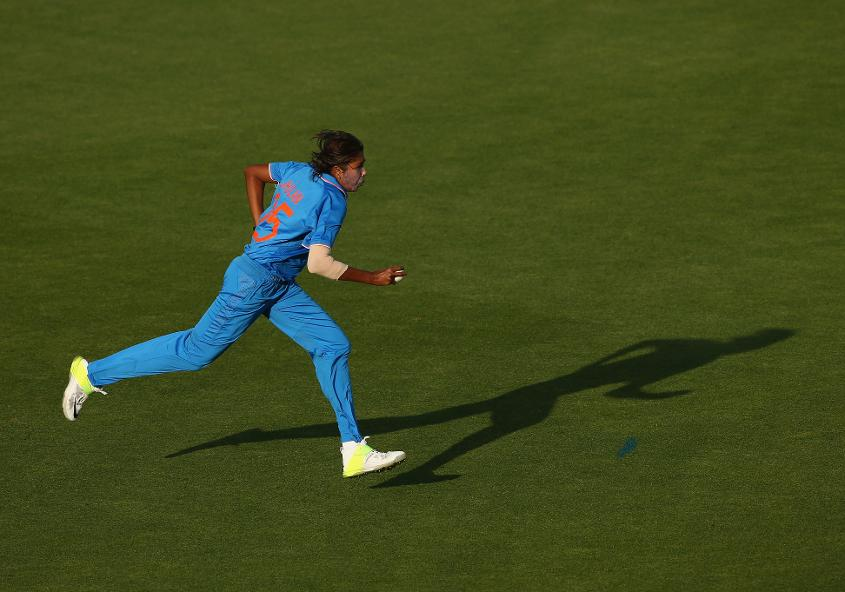 Jhulan Goswami is now the leading wicket-taker in women's ODIs.