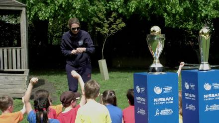 ICC Nissan Trophy Tour visits Derby