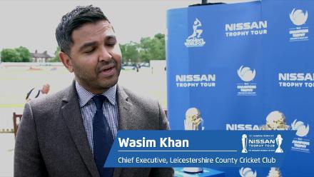 Nissan Trophy Tour visits Leicester