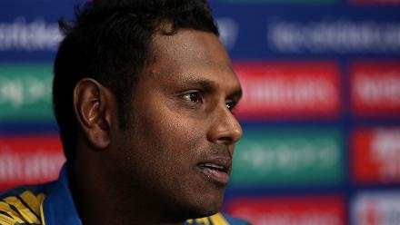 Angelo Mathews Pre Tournament Media Conference London 25 May