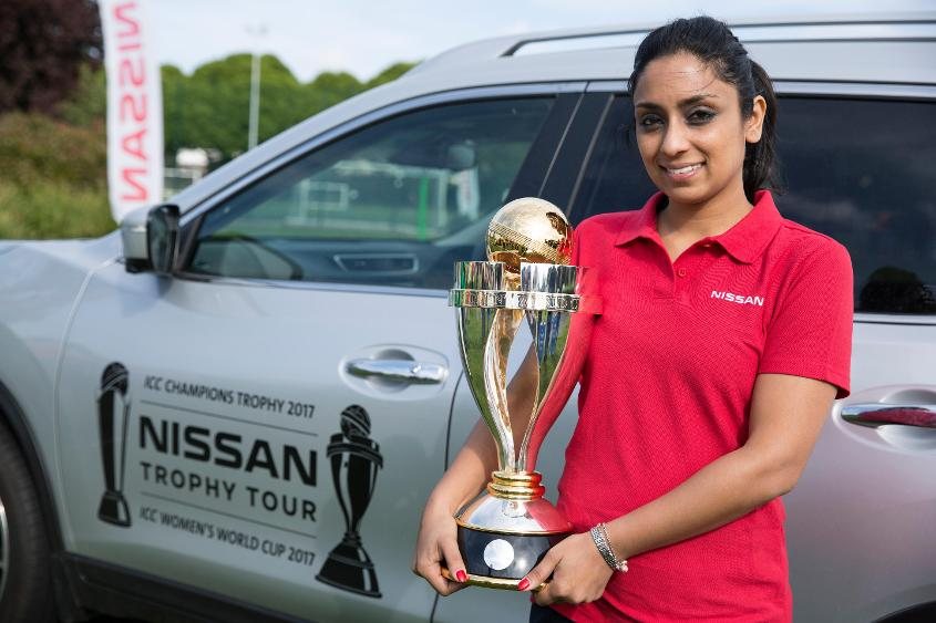 The Nissan Trophy Tour visited Dulwich Cricket Club on Saturday as its journey around the country draws to a close