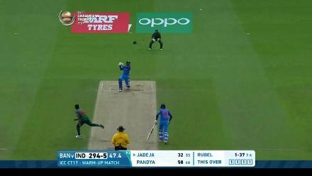 #CT17 Warm-up: India v Bangladesh highlights