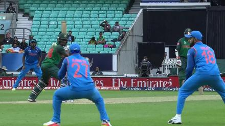 #CT17 Warm-Up: Rubel Hossain wicket
