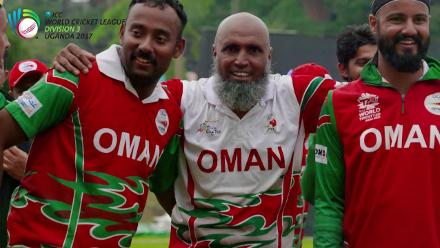 WCL Division 3 – Oman lift the trophy