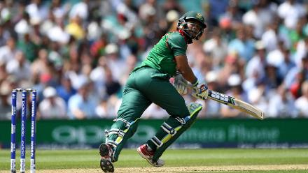 Sabbir Rahman'w 15-ball 24 helped Bangladesh get to 305/6 in their 50 overs