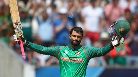 Tamim reached his ninth ODI century and fifth century since the 2015 World Cup