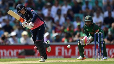 As Hales upped the ante, Joe Root provided good foil at the other end, scoring a sedate fifty.