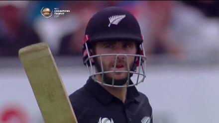 FIFTY: Kane Williamson brings up his fifty