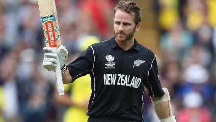 Kane Williamson dazzled with a crisp 100 in 97 deliveries, his ninth One-Day International century to propel New Zealand