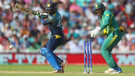 Upul Tharanga, captaining Sri Lanka in the absence of Angelo Mathews, scored 57 off 69 balls