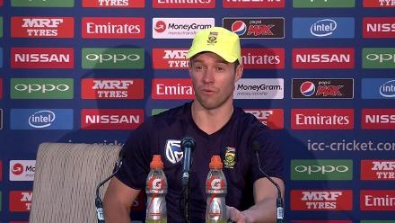 #CT147 SL v SA - AB de Villiers post-match press conference