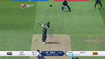 FALL OF WICKETS: South Africa innings