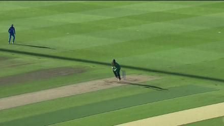 WICKET: Hasan Ali falls for 0