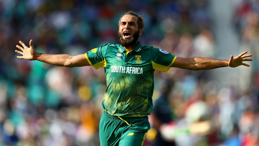 Imran Tahir is the sole spinner in the top scorers from the bowlers so far