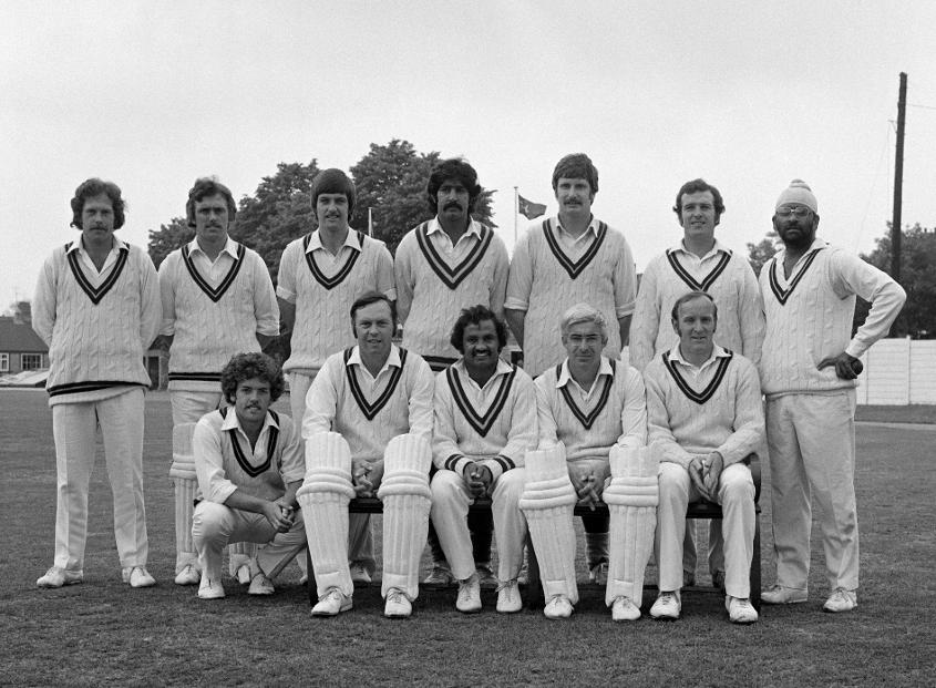 Northamptonshire County Cricket team in 1976.