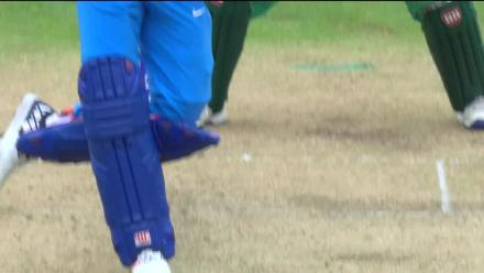 DROPPED: Yuvraj Singh survives as Hasan Ali drops a sitter