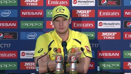 #CT17 Aus v Ban: Steve Smith post-match press conference