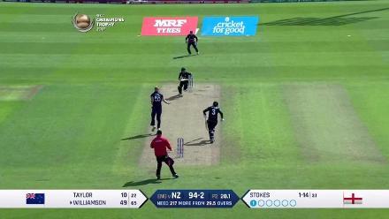 #CT17 Eng v NZ: Kane Williamson innings