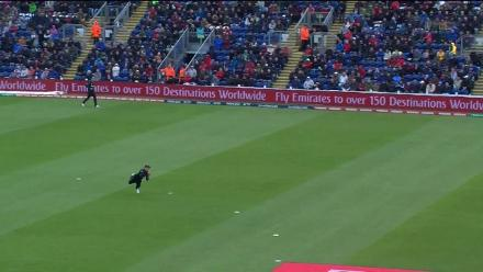 WICKET: Moeen falls to Anderson for 12