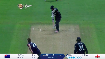 Nissan POTD - Ronchi bowled by Ball
