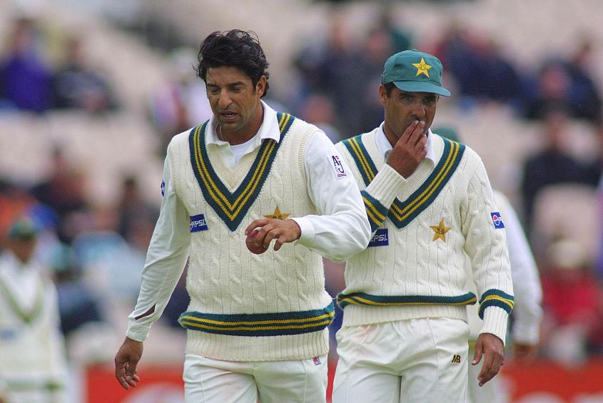 Wasim Akram and Waqar Younis hunted in pairs for Pakistan.