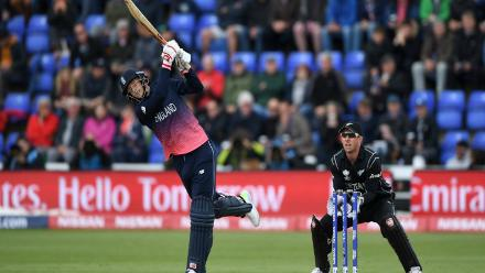Joe Root was in sublime touch with a run-a-ball 64 and stitched an 81-run partnership for the second wicket with Hales.