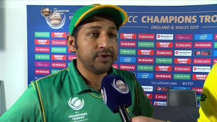 #CT 17: PAK v SA - Captains Interview
