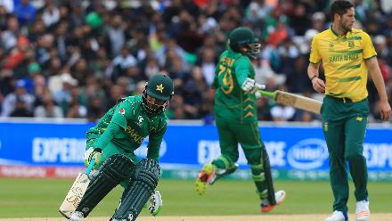 Pakistan rode on small contributions from their batsmen to rack up the runs.
