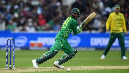 Shoaib Malik chipped in with an unbeaten 16