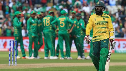 South Africa v Pakistan - Champions Trophy, Group B, Edgbaston