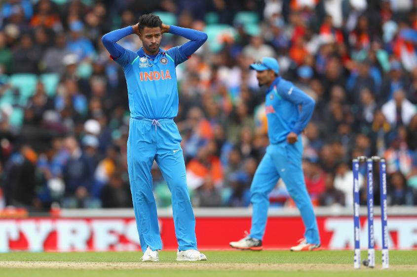 Hardik Pandya didn't have his best days on the field today, and India might look to change its line-up for the next match and maybe bring in Ravichandran Ashwin