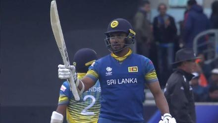 FIFTY: Gunathilaka gets to his 4th ODI fifty