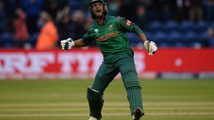 CENTURY: Mahmudullah brings up his 100