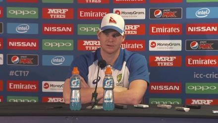 #CT17 ENG v AUS - Steven Smith Pre-Match Press Conference