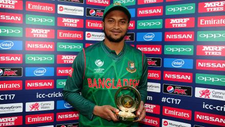 Shakib Al Hasan is a special player, and he chose a special occasion to galvanise himself.