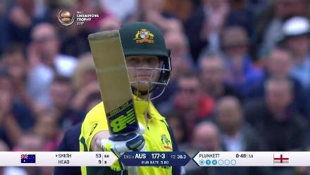 #CT 17 Eng v Aus: Steve Smith innings