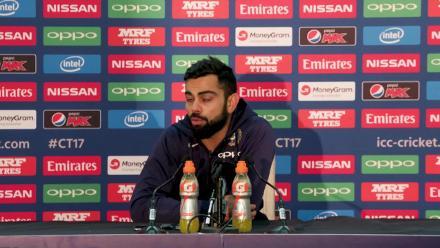 #CT17 IND v SA - Virat Kohli - Pre-Match Press Conference