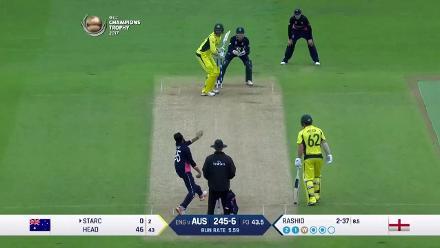 #CT17 Eng v Aus: Adil Rashid takes 4 for 41