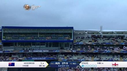 #CT17 ENG v AUS - Match Highlights