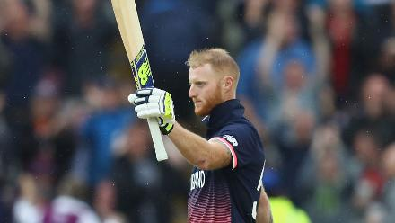 Ben Stokes hit an unbeaten ton to keep England in command