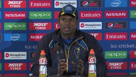 #CT17 SL v PAK - Angelo Mathews Pre-Match Press Conference