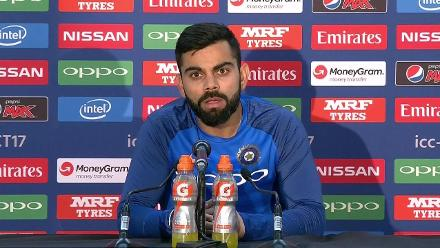 #CT17 IND v SA - Virat Kohli Post-Match Press Conference