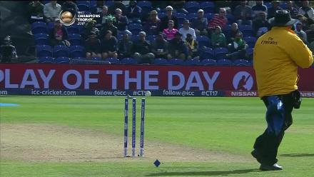 WICKET: Fahim is run out by Perera for 15