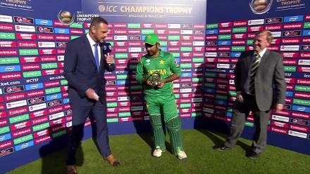 #CT17 SL v PAK Player of the Match - Sarfraz Ahmed