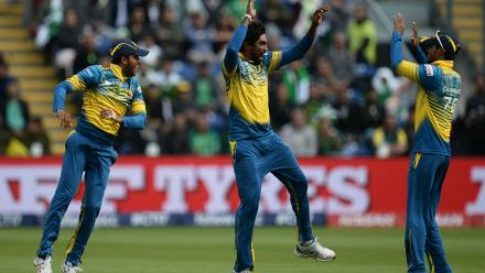 Nuwan Pradeep then ran through Pakistan's batting order and finished with 3 for 60